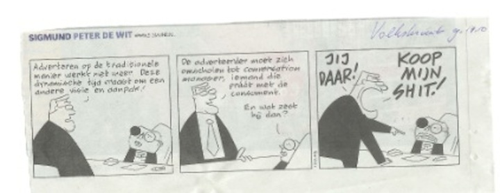 Conversation Manager cartoon