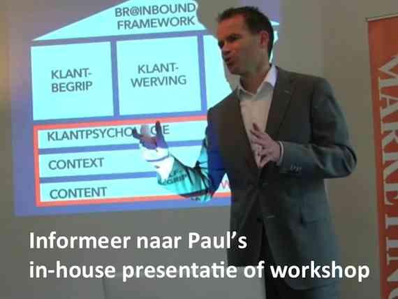 Paul Hassels Monning presentatie of workshop